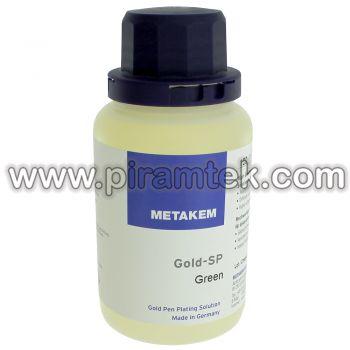 Altın Yeşili Kalem Yoluyla Kaplama Suyu 100 ml / 2 gr Altın